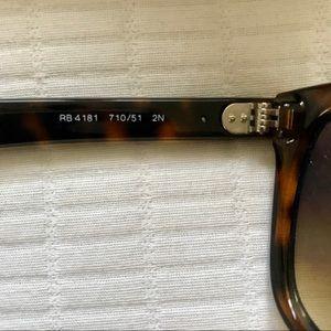 da04d0c323 Ray-Ban Accessories - Ray-Ban RB 4181 Tortoise Non-Polarized Sunglasses
